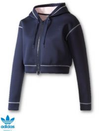 Women's Adidas Originals Short Zip Hoodie (BR9362) (Option 2) x7: £14.95
